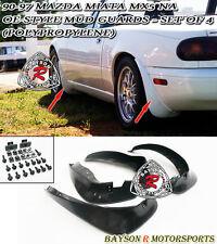 Mud Flap Guards Kit Fits 90-97 Mazda Miata