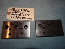 New listing Wire Edm Mecatool C665200 Plate 118 X 70 X 22Mm 2Pcs. Set