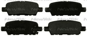 Disc Brake Pad Set fits 2002-2010 Nissan 350Z Murano Quest  NEWTEK AUTOMOTIVE