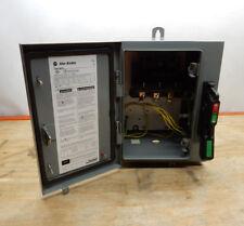 Allen Bradley Disconnect Switch 1494G-BK3N Ser 1