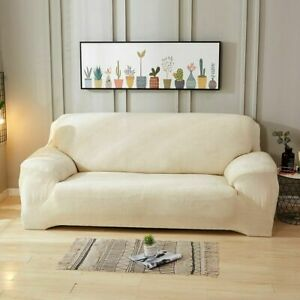 Plush Thicken Sofa Cover Cushion Corner Elastic Couch Covers Sectional Slipcover