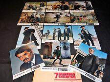 7 SECONDES EN ENFER ! john sturges  j garner jeu 24 photos cinema western 1967