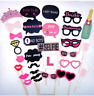 30pcs Full Set Hen Party Selfie Photo Props Booth Night Games Wedding Accessorie