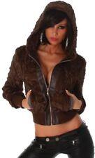 Cappotti e giacche da donna casual marrone , Taglia 38