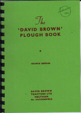 David Brown PU1/PU2/PU3/PU4/PU5 Tractor Plough Instruction Book Manual