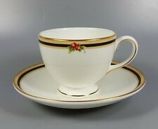WEDGWOOD CLIO TEA CUP AND SAUCER (PERFECT)