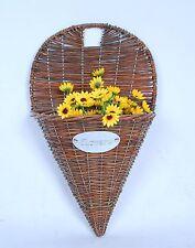 Beautiful Wall hanging Basket,Planter,Wicker Basket,Flower Basket,Floral Basket