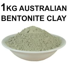 Australian Bentonite Clay-1 Kilo PREMIUM GRADE Detox Mud Bath Face Mask