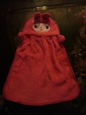 Towel HANGING BATHROOM HAND TOWEL KIDS RED!! Baby Soft Infant child toddler