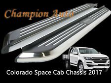 Holden Colorado/ Isuzu D max Space Cab Side Steps  Aluminum 2012-2018+ CMP94