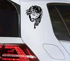 Jesús cristo auto pegatinas Chopper Quad motocicleta Ángel de la guarda sticker