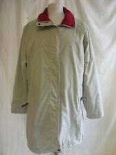 Ladies Coat - Jack Murphy Outdoor, size 14, beige, longer length, used - 2209