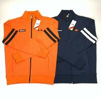 BNWT Ellesse Mens Full Zip Track Jackets Lot Size Small Navy Blue and Orange