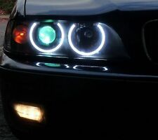 97-00 E39 BMW 5-series SAE/US DEPO STYLE Headlight LED UHP ANGEL Halo ORION LITE