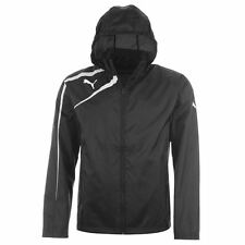Puma Spirit Rain Jacket Black XL Golf Jogging Running Hidden Hood