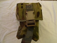 British Army Osprey MK4 / 4A WATER BOTTLE POUCH - MTP - USED - GRADE 1 -Genuine
