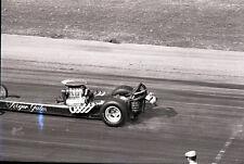 Roger Gates Front Engine Dragster - Vintage 35mm Drag Racing Negative