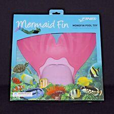 Finis Mermaid Pink Swim Fin Recreational Monofin Adjustable Strap Pool Toy New