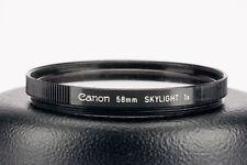 Canon 58mm Skylight 1x (58mm)