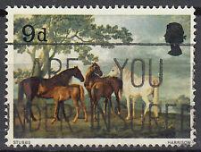 Großbritannien England gestempelt Pferd Tier Wildpferd Gemälde Malerei Kunst/124