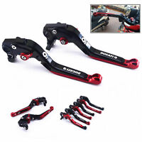 For DUCATI Monster 696 695 400 620 S2R Folding Extendable Brake Clutch Levers
