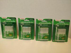 Walgreens Interdental Brush 12 IN EACH - Mint - LOT of 4 PACKS