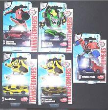 5 x Transformers Robots in Disguise Series 1 Die-Cast 100% Brand New