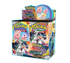 Pokemon TCG x4 Booster Packs Cosmic Eclipse 1/9 Booster Box Unsearched SKU#314
