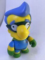 "Kidrobot The Simpsons 25th Anniversary Series Fallout Boy Milhouse 3"" Vinyl Toy"