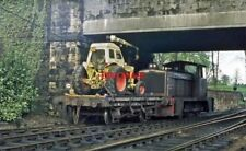 PHOTO  IRISH RAILWAY - CIE LOCO NO  DH-LISBURN-1974