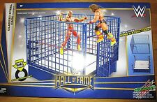 WWE HALL OF FAME CLASSIC STEEL CAGE RING PLAYSET WWF TARGET EXCLUSIVE HOF