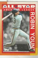 FREE SHIPPING-MINT-1990 Topps #389 Robin Yount  Brewers PLUS BONUS CARDS