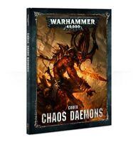 Warhammer 40K Chaos Daemons Codex Hardcover 8th Edition NEW