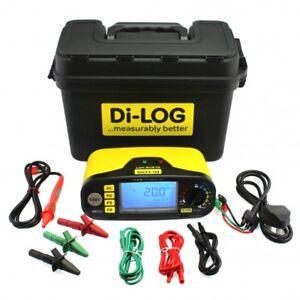 Di-Log DL9118 Multifunction Installation Tester  2 Year Warranty