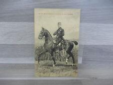 Old postcard - Military - Le Roi Albert passant la revue de ses troupes
