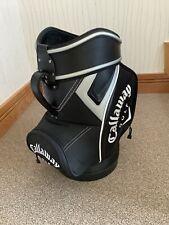 Callaway Golf Den Caddy Golf  Tour Bag Fusion Ltd Edition  , Black, Silver