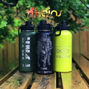Personalized Bottles - Name | Logo | Photo Engraving - Insulated Water Bottles