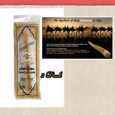 Confezione 2 miswaak Miswak meswak (Sewak, ARAK, siwak, Spazzolino da denti naturale) al Salah