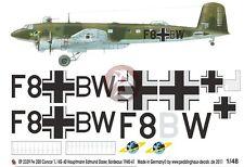 Peddinghaus 1/48 Fw 200 C-1 Condor Markings Edmund Daser 1./KG 40 France 2329