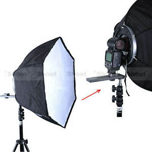 46cm Foldable Flash Soft Box Diffuser Reflector fr Canon Pentax Nissin Speedlite