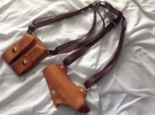 Handmade 1911 Shoulder Holster. Leather, Made In The USA. For 5-inch Handguns