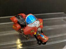 Vintage 1984 Bandai Gobots Transformer Robot Harley Motorcycle Red