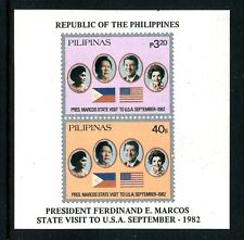 Philippines 1621a, MNH, Visit of President Marcos to USA 1982
