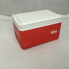 Vintage Igloo Legend 6 Packer 4 Personal Lunch Box Cooler Ice Chest Red