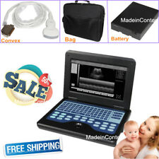 Portable laptop machine ultrasound diagnostic Scanner+3.5MHZ Convex Probe US FDA