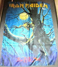IRON MAIDEN TEXTILE POSTER FLAG  RARE NEW NEVER OPENED FEAR OF THE DARK