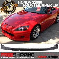 Fits 00-03 S2000 AP1 T-R Style PU Front Bumper Lip Spoiler