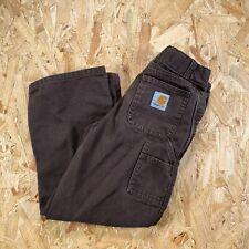 Carhartt Kids Boys Trousers Pants Brown Age 6 Years