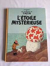 TINTIN L ETOILE MYSTERIEUSE / BD B40 1973 / HERGE / CASTERMAN