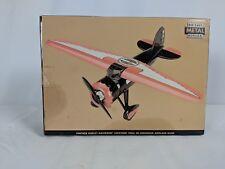 Rare Harley Davidson Vintage Lockheed Vega 5B Highwing Airplane Bank NIB